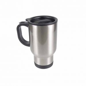 Travel Mugs Coated Stainless Steel