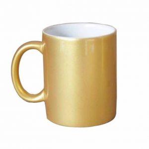 Gold Color Coffee Mug