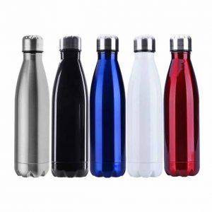 SIlver Cap Sports Bottle