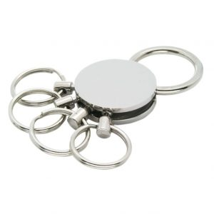 Metal Keychain Four Rings