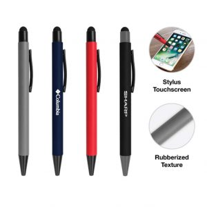 Stylus Rubberized Pens
